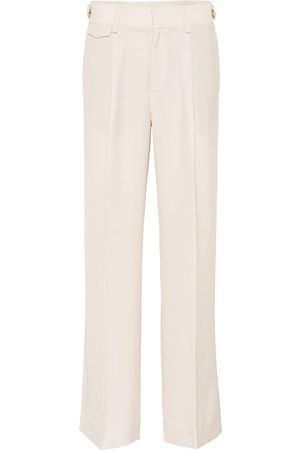 Vince Mid-rise wide-leg pants