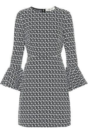 Diane von Furstenberg Jersey jacquard minidress