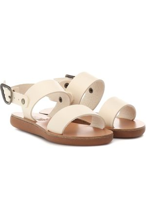 Ancient Greek Sandals Kids Little Clio Soft leather sandals