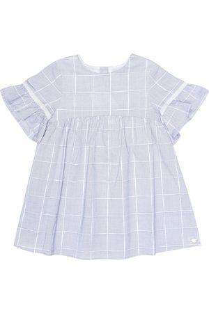 Tartine Et Chocolat Checked cotton dress