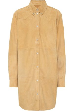 Isabel Marant, Étoile Senna suede shirt dress