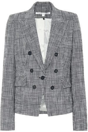 VERONICA BEARD Diego checked tweed blazer