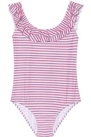 Melissa Odabash Kids Missy striped swimsuit