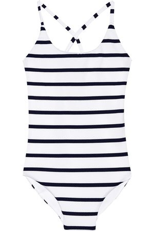 Melissa Odabash Kids Vicky striped swimsuit
