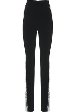 DAVID KOMA Sequined high-rise skinny pants