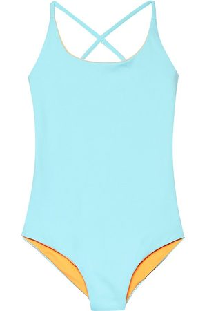 Melissa Odabash Kids Vicky reversible swimsuit