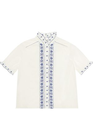 BONPOINT Lauriane embroidered cotton shirt