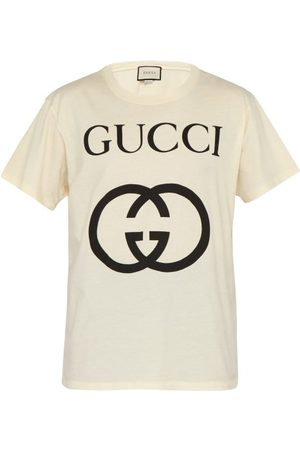 Gucci Logo-print Cotton T-shirt - Mens