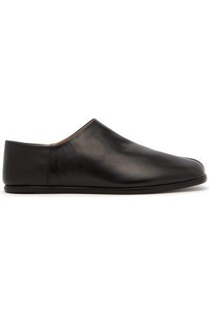 Maison Margiela Men Loafers - Tabi Split Toe Leather Loafers - Mens