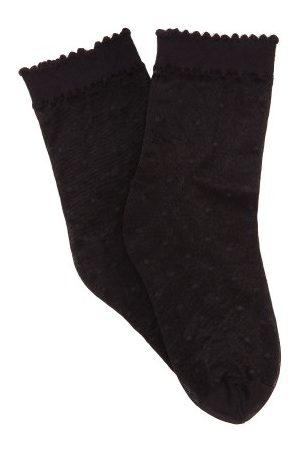 Falke Women Socks - Polka-dot Mesh Ankle Socks - Womens