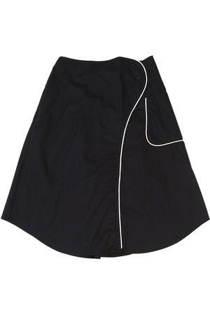 Once Cotton Poplin Skirt