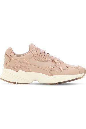 adidas Falcon Mesh & Suede Sneakers
