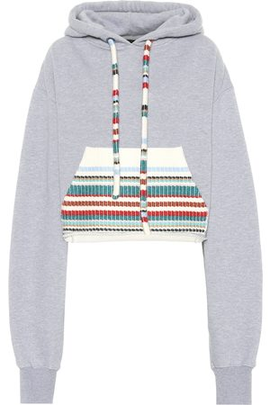 Alanui Cotton and cashmere hoodie
