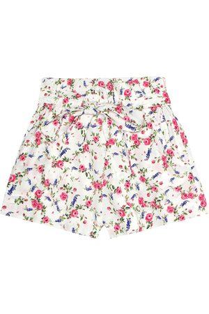 MONNALISA Girls Printed Skirts - Floral-printed shorts