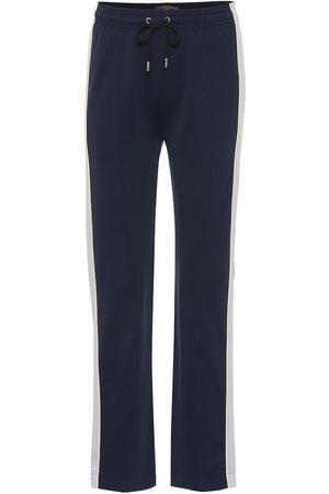 AlexaChung Cotton-blend trackpants