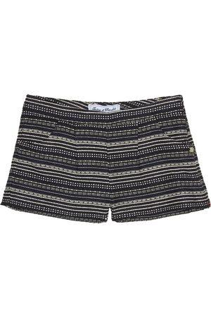 Tartine Et Chocolat Striped jacquard shorts