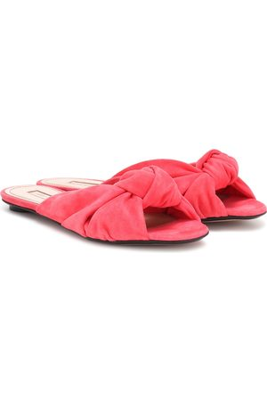 SAMUELE FAILLI Betsy suede slippers