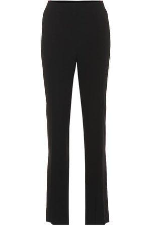 Givenchy High-rise straight crêpe pants