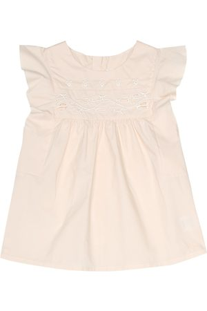 Chloé Broderie anglaise cotton top