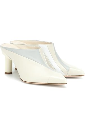 tibi Joel leather mules