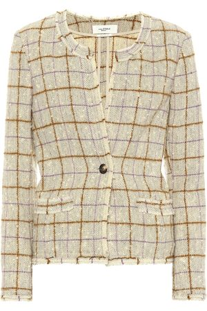 Lyra Wool Blend Tweed Jacket