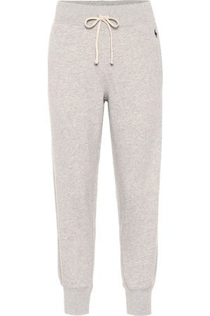 Ralph Lauren Cotton-blend trackpants