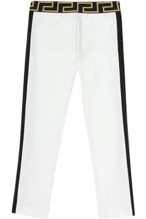 VERSACE Jersey leggings