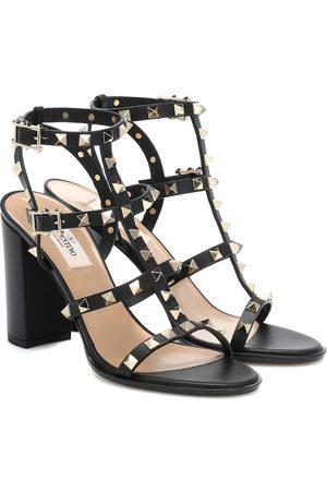 Valentino Sandals - Rockstud leather sandals