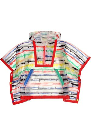 Stella McCartney Painted Stripes rain cape