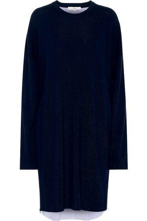 tibi Wool and cotton dress