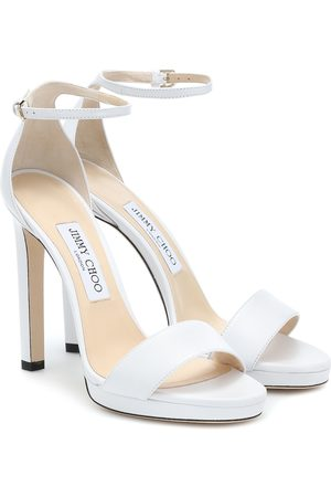 Jimmy choo Misty 120 leather sandals