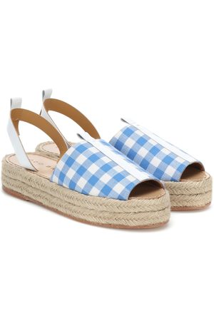 DODO BAR OR Checked espadrilles