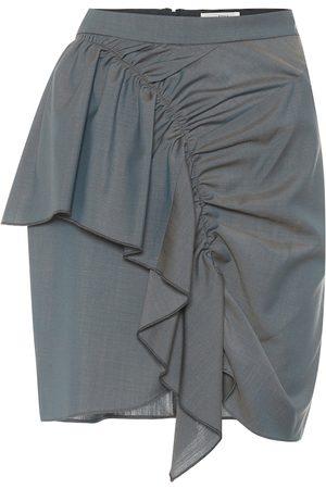 Isabel Marant, Étoile Nely cotton-blend miniskirt