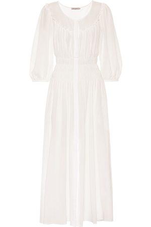 Three Graces London Arabella cotton maxi dress