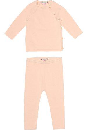 BONPOINT Cotton shirt and pant set