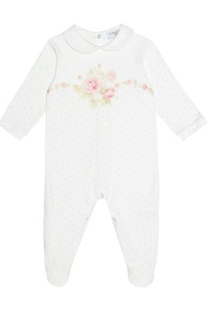 MONNALISA Printed cotton onesie