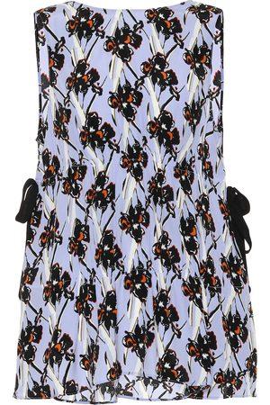 Dorothee Schumacher Flower Breeze silk-blend crêpe top