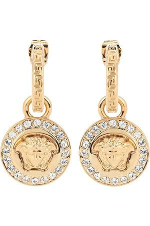 VERSACE Greca and Medusa earrings