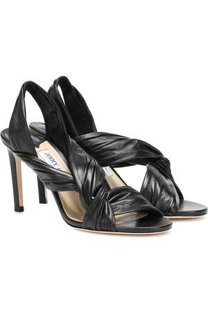 Jimmy choo Lalia 85 leather sandals
