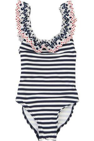 SELINI Striped Lycra One Piece Swimsuit