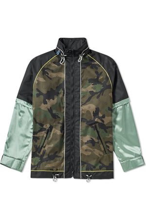 VALENTINO Technical Taped Parka