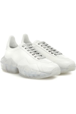 Jimmy choo Diamond/F leather sneakers