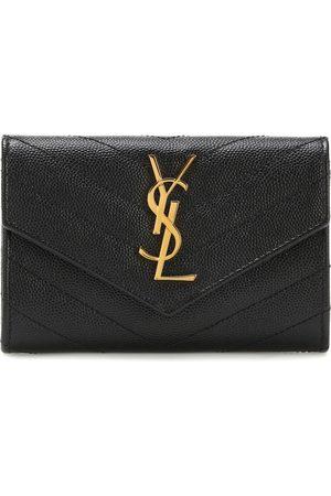 Saint Laurent Monogram Small leather wallet