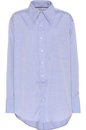 MATTHEW ADAMS DOLAN Oversized cotton shirt