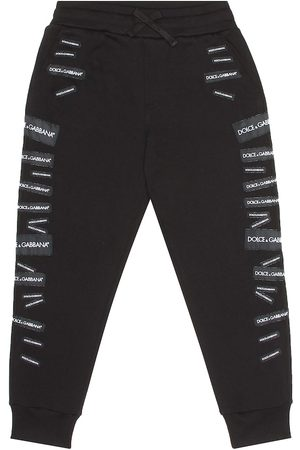 Dolce & Gabbana Logo cotton trackpants