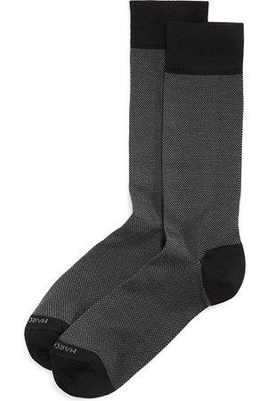 Marcoliani Men Socks - Lisle Birdseye Socks
