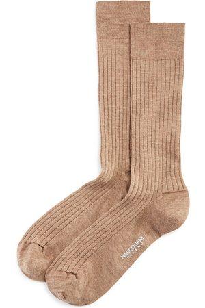 Marcoliani Ribbed Dress Socks