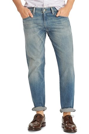 Ralph Lauren Hampton Relaxed Straight Fit Jeans in