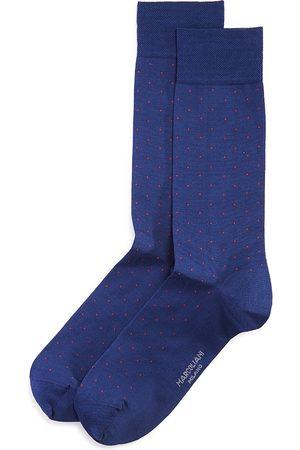Marcoliani Lisle Pin-Dot Socks