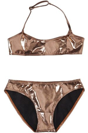 Finger in the Nose Metallic Lycra Bikini